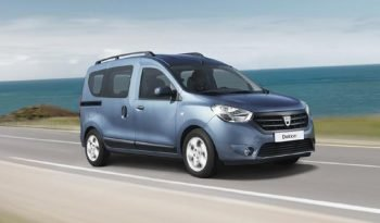 Location Dacia Dokker 7 places full