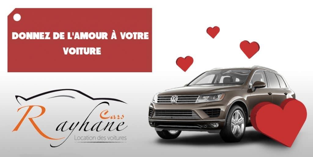 Donnez de l'amour à votre voiture