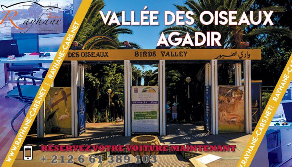 Vallée des oiseaux Agadir